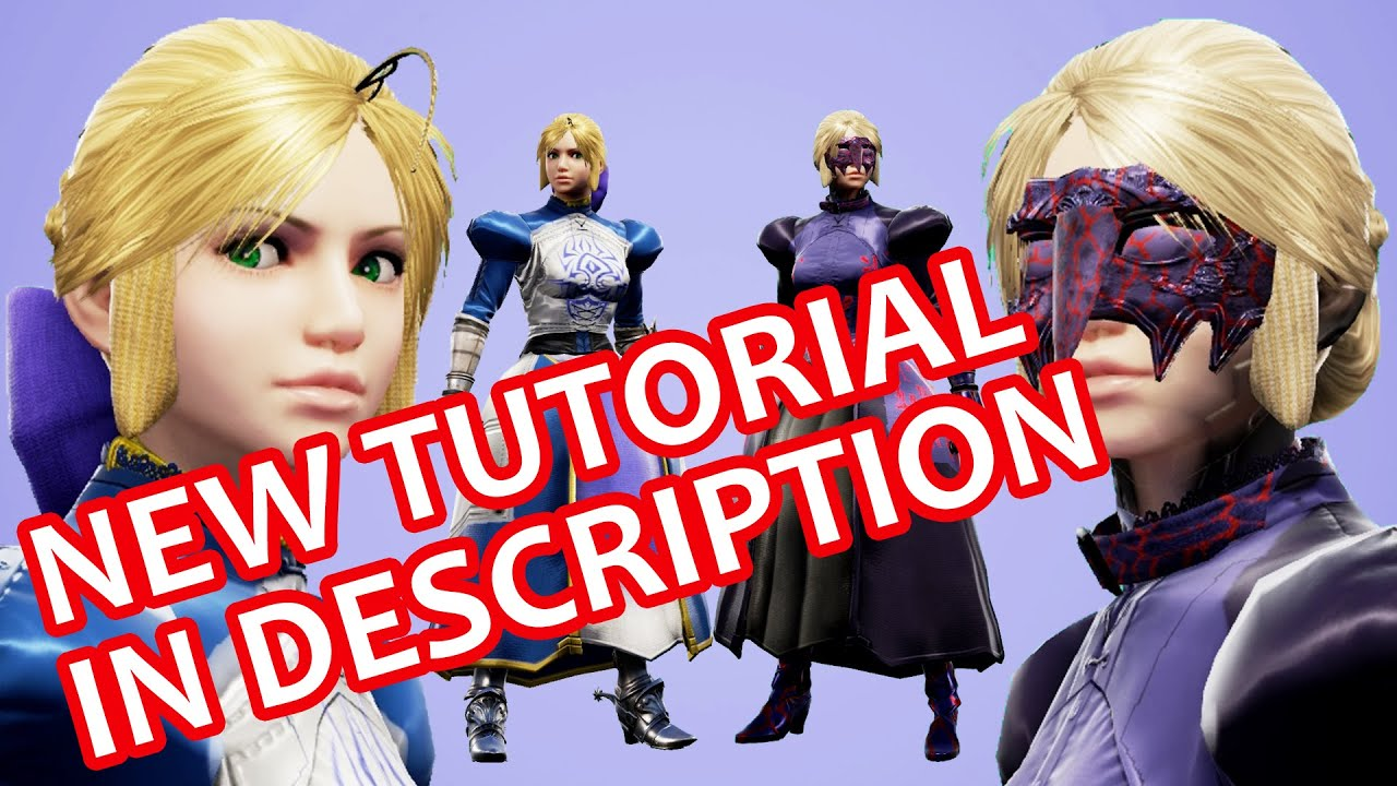 SoulCalibur 6: Saber Alter (Fate/Stay Night) (+UPDATE) Character Creation  Tutorial