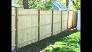 Wood Fence Installations Boston, Ma Area By Malone Fence Company
