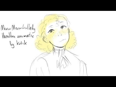 Hamilton Animatic | Philip Hamilton| Kitty Cat song