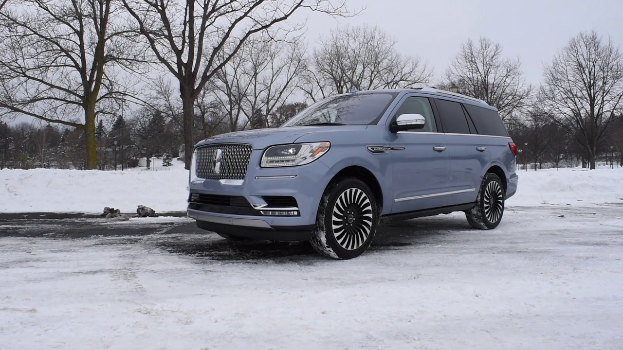 2018 Lincoln Navigator Yacht Club Edition   Driving Review   Model Overview