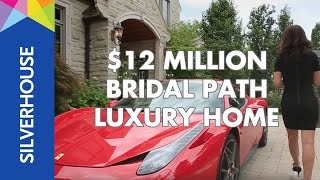 $12 MILLION DOLLAR Bridal Path Luxury Real Estate Video Tour - 95 Bayview Ridge