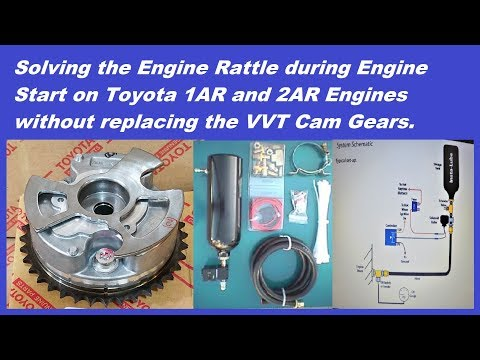 Solving Engine Rattle during Engine Startup on Toyota