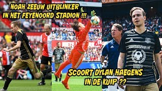 Scoort Dylan Haegens in De Kuip? Noah uitblinker in vol Feyenoord stadion!