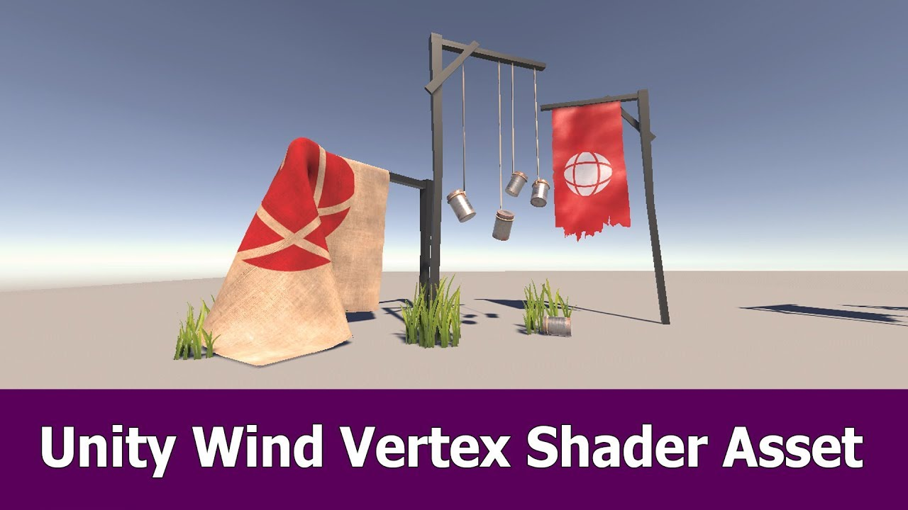 Unity Wind Vertex Shader Asset