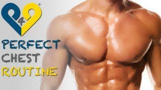 Perfekte brust - 30 minuten training -Brustmuskeln trainieren zu hause