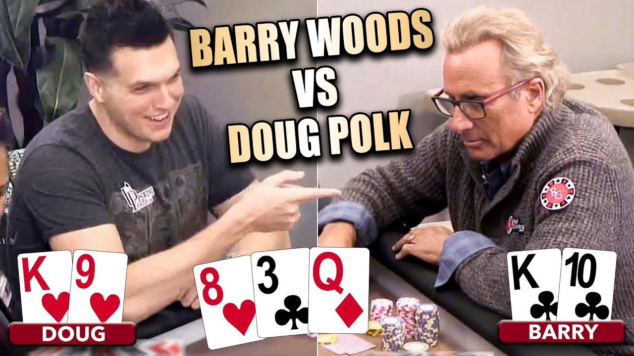 Doug Polk vs Barry Woods $10,000 Buy-in Heads Up Match ♠ Live at the Bike!