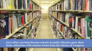 Just Ask Joe: Library of Congress Surplus Books Program