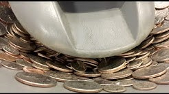 How To Find A Free Dump Bank With A Free Coin Sorting Machine! No More Rolling Coins!!!