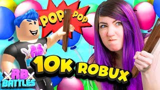 BE THE ROBLOX MINIGAMES MASTER AND WIN 10,000 ROBUX! (Roblox Battles)