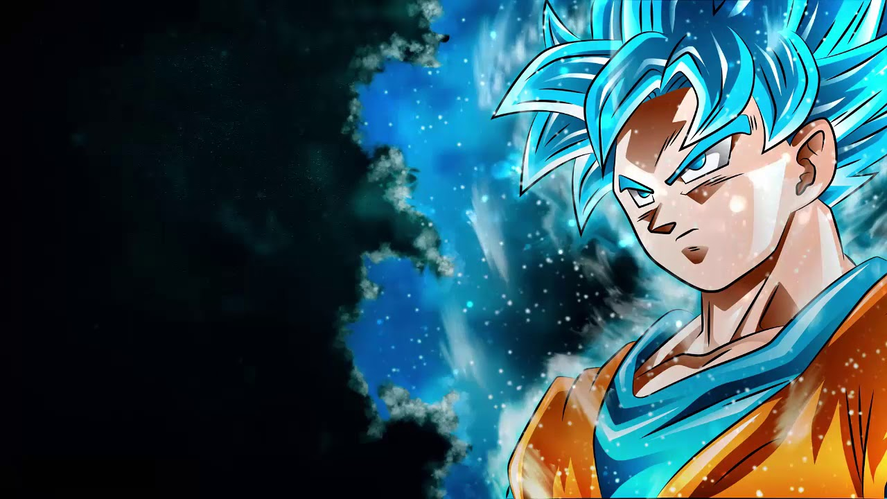 goku ssb moving wallpaper [full hd ] - youtube