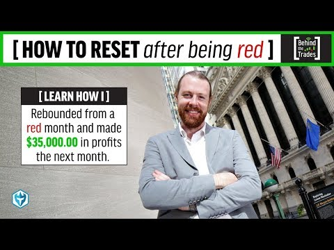 How to RESET after a bad month | Behind The Trades | Ep #10