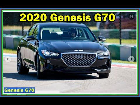 2020 Genesis G70 Review - New Hyundai Genesis G70 Sport Look out, Germany