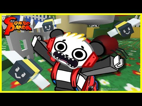 Roblox Bee Swarm Sim Learn Bugs Lets Play with Combo Panda