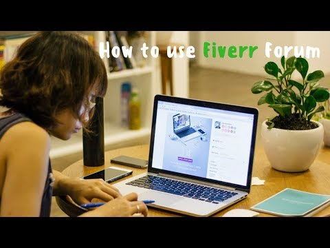 How to use Fiverr Forum?