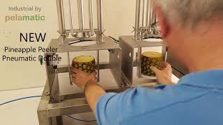 Pineapple Peeler Pneumatic Double - Pelamatic SL