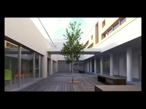 Virtual tour of the future Negba After-School Center for Children in Beersheva