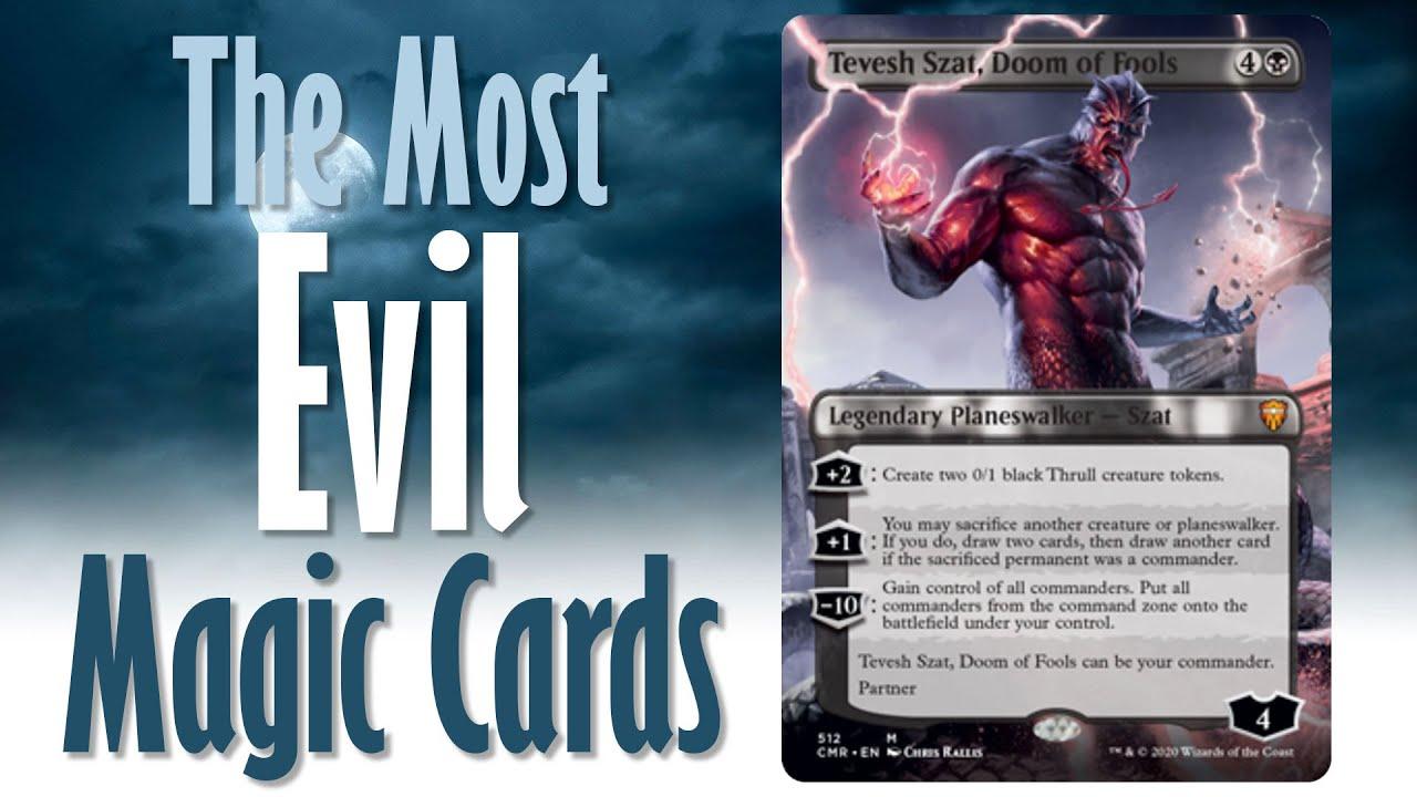 Tevesh Szat M512-MTG-4RCards Doom of Fools X1 Borderless- Commander Legends