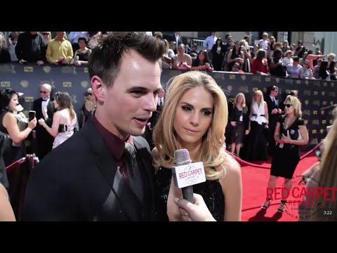 Darin Brooks & Kelly Kruger @BandB_CBS ed at the 42nd Daytime Emmy Awards DaytimeEmmys
