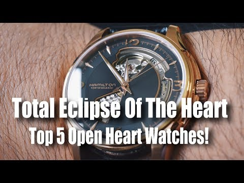 Total Eclipse Of The Heart!  (Top 5 Open Heart Watches)