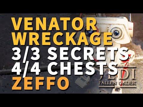 Venator Wreckage Chests And Secrets All Locations Zeffo Star Wars Jedi Fallen Order