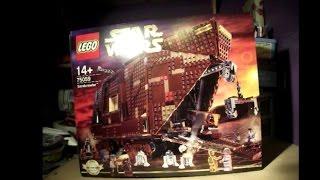 Lego Starwars Sandcrawler Part 1 Unboxing- Set Number 75059