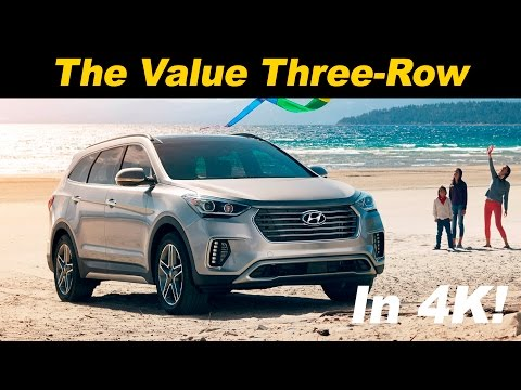2017 Hyundai Santa Fe Review and Road Test | DETAILED in 4K UHD!