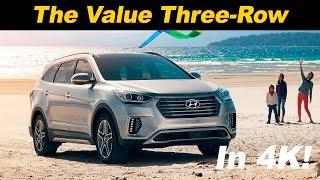 Hyundai Santa Fe 2016-2017 (Хендай Санта Фе) видео обзор и тест драйв