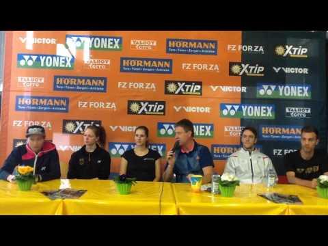 2. Pressekonferenz der Deutschen Meisterschaft in Bielefeld