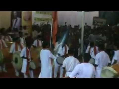 Shivpratap Vadyapathak at Sakal Dhol Tasha Spardha