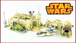 LEGO Star Wars 75290 Mos Eisley Cantina Speed Build - Brick Builder