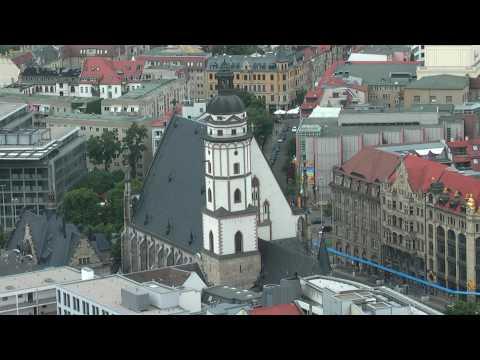Impressionen: Blick über Leipzigs Dächer