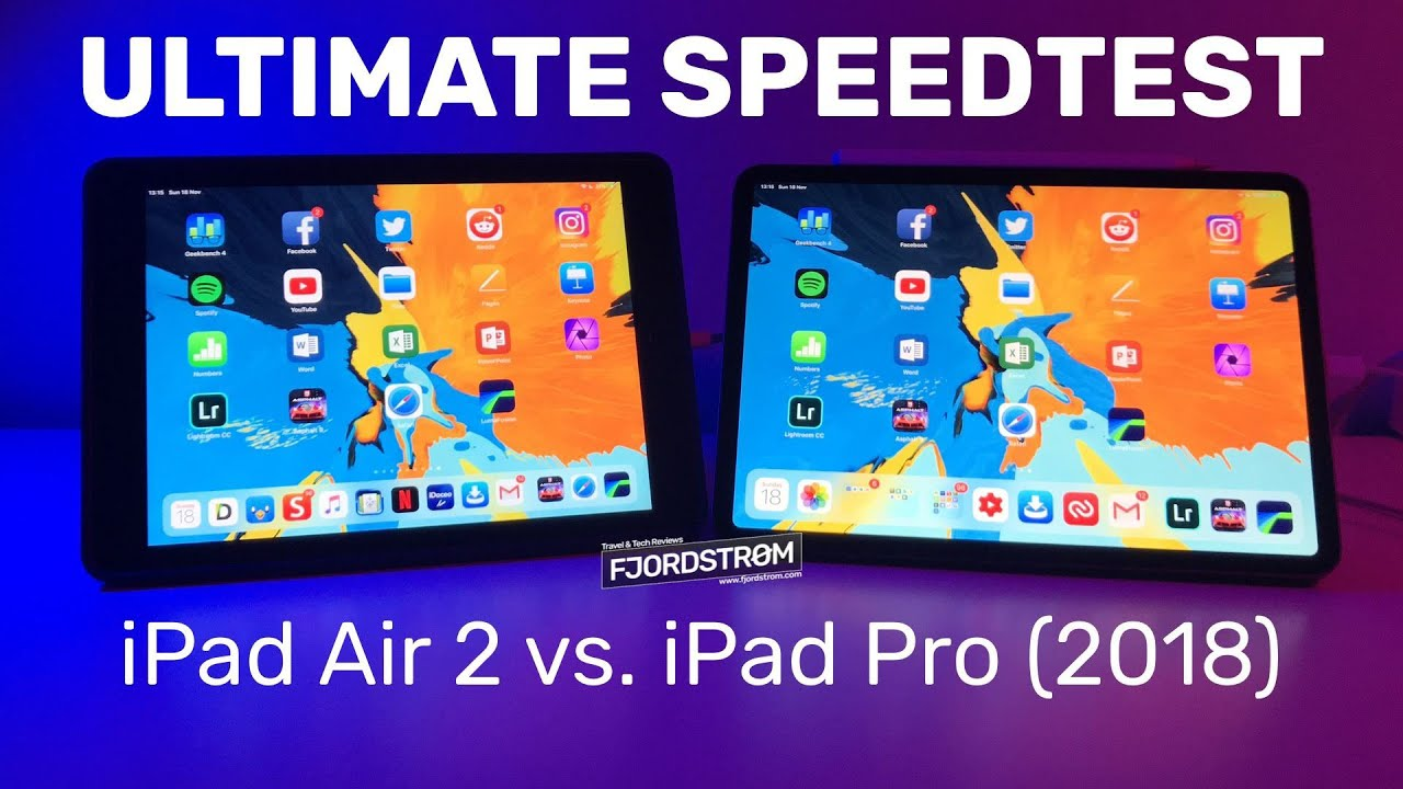 iPad Pro 2018 vs. iPad Air 2 (November speedtest — UPDATE IN DESCRIPTION!)