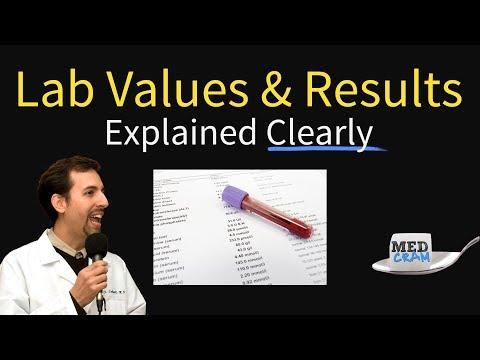 Lab Results, Values, And Interpretation (CBC, BMP, CMP, LFT)