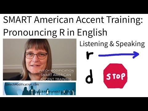 Pronouncing R in English:  Listening and Speaking Practice