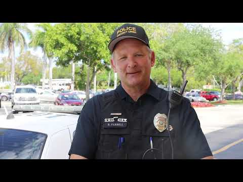 Officer Dan's Message to Coconut Creek Elementary School