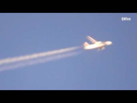 Flat Earth Sky : SideWays Flying Fake Planes Compilation P610 /P900