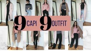 9 Capi 9 Outfit Come Creare Outfit Alla Moda con Pochi Capi