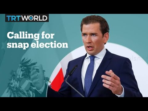Austria's Chancellor calls for a snap election