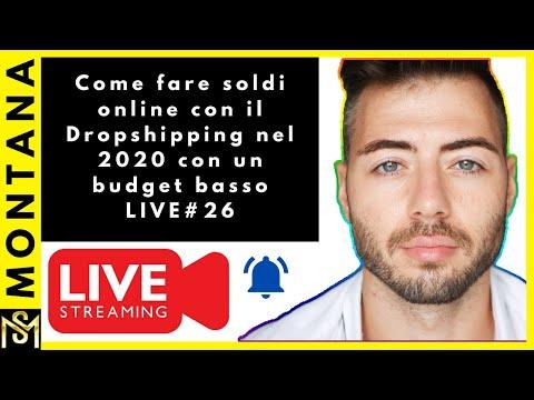 Come fare soldi online con il Dropshipping nel 2020 con un budget basso LIVE#26