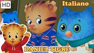 Daniel Tiger in Italiano - Gioca con O il Gufo 🦉 | Video per Bambini