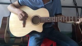 Guitar Acoustic Giá rẻ Có ti chỉnh cong cần BMT Daklak 700k