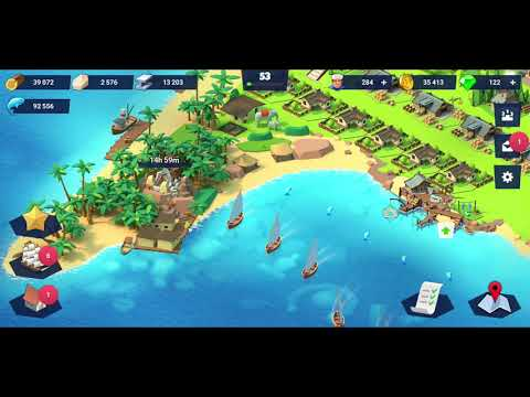 Seaport - Explore, Collect & Trade Iphone/Ipad/Android Gameplay #44 1080p