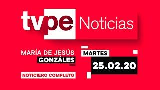 Mantente informado en TVPerú Noticias con María de Jesús González