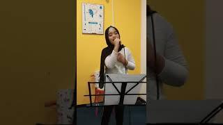 Sahabat Tersayang - Cover Alika bh Marshya Aurelia - Latihan Vocal