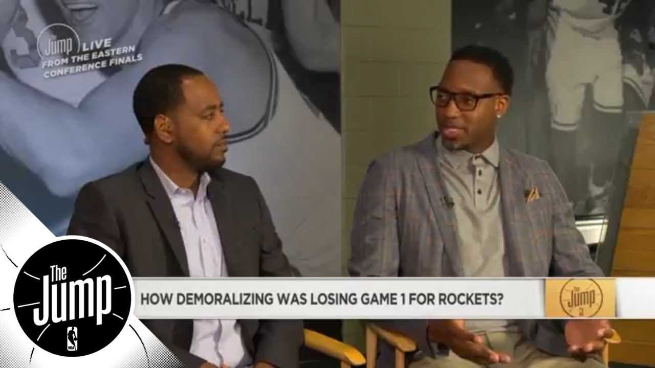 Tracy McGrady: Kevin Durant is a 'big problem' for the Rockets | The Jump | ESPN