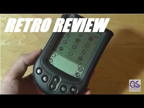 Retro Review: Palm m105 Handheld PDA!