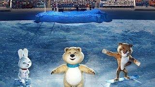 Сочи 2014 РОССИЯ Церемония открытия   Sochi opening ceremony