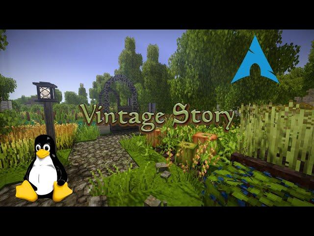 Vintage Story - Linux | Gameplay