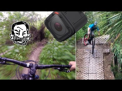 GoPro lost! Recovery ride, Florida MTB trails, Gimbal Camera - RWS EP4