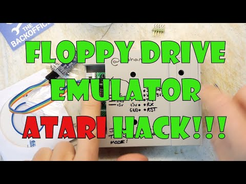 GOTEK floppy disk emulator - firmware update for Atari Teardown Lab Atari ST Fun!